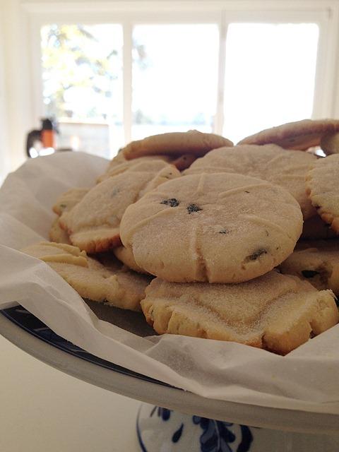 Honey Basil Cookies